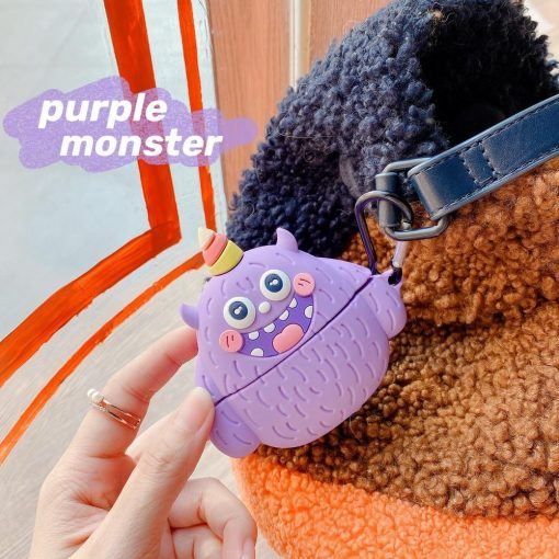 Cute Little Weird Monster Premium AirPods Pro Case Shock Proof Cover