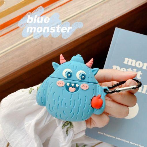 Cute Little Weird Monster Premium AirPods Case Shock Proof Cover