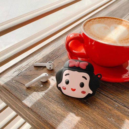 Snow White 'Comic' Premium AirPods Case Shock Proof Cover