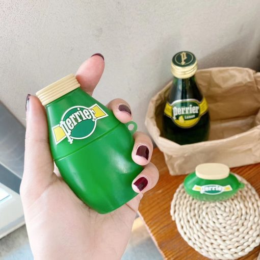 Perrier Water Premium AirPods Case Shock Proof Cover