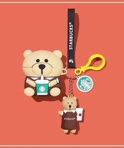 Starbucks Bear Premium AirPods Pro Case Shock Proof Cover