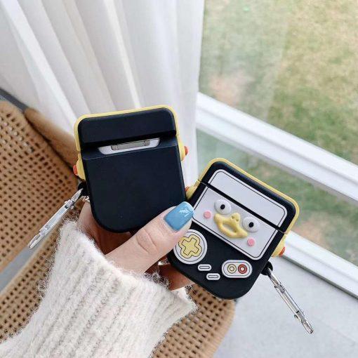 Penguin Game Console Premium AirPods Case Shock Proof Cover