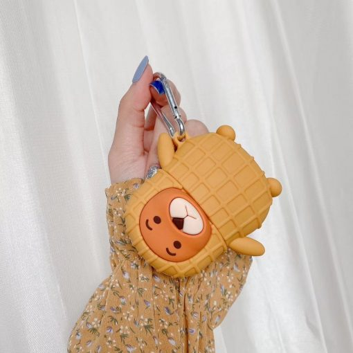 Bear in Peanut Costume Premium AirPods Case Shock Proof Cover