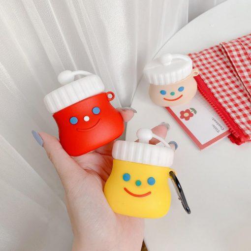 Happy Condiments Premium AirPods Case Shock Proof Cover