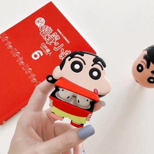 Crayon Shin Chan 'Standing Shinnosuke' Premium AirPods Case Shock Proof Cover
