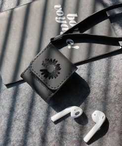 Peaceminusone x Fragment Daisy Vegan Leather AirPods Holster