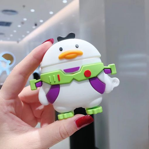 Duck 'Buzz Lightyear' Premium AirPods Case Shock Proof Cover