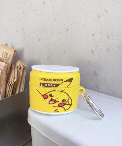 Pikachu Soda Can Premium AirPods Pro Case Shock Proof Cover