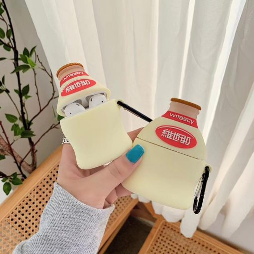 VitaSoy Soy Milk Premium AirPods Case Shock Proof Cover