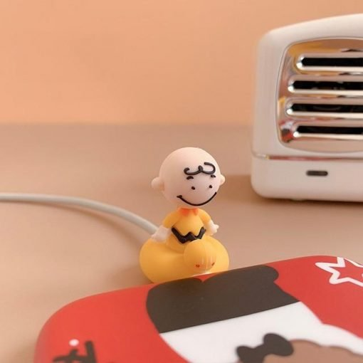 Charlie Brown 'Sitting' Cable Bite Protector