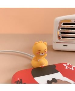 Kakao Friends Bear 'Sitting' Cable Bite Protector