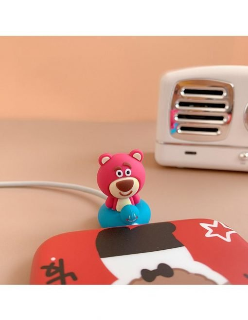 Toy Story 'Lotso' Sitting Cable Bite Protector