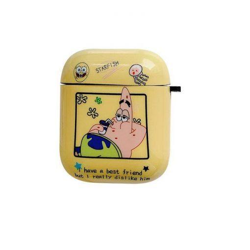 Spongebob 'Spongebob | Patrick' AirPods Case Shock Proof Cover