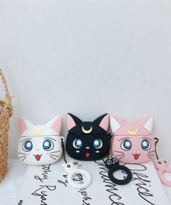 Sailor Moon 'Luna | Artemis | Aesthetic' Premium AirPods Pro Case Shock Proof Cover