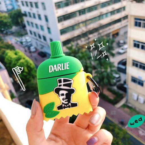 Darlie Toothpaste Premium AirPods Case Shock Proof Cover