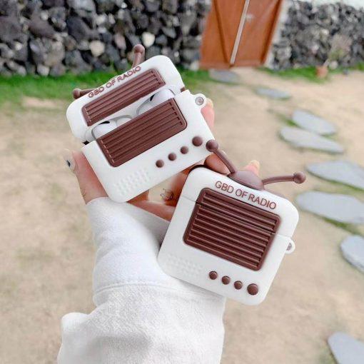 Retro Radio Premium AirPods Pro Case Shock Proof Cover