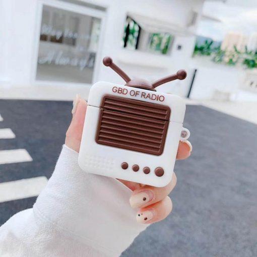 Retro Radio Premium AirPods Case Shock Proof Cover