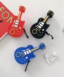 Blues Guitar Premium AirPods Case Shock Proof Cover
