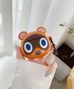 Cute Raccoon Premium AirPods Case Shock Proof Cover