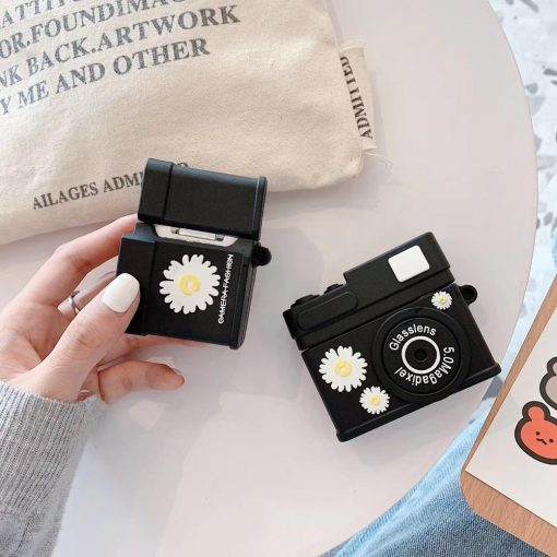 Fragment Daisy Camera Premium AirPods Case Shock Proof Cover
