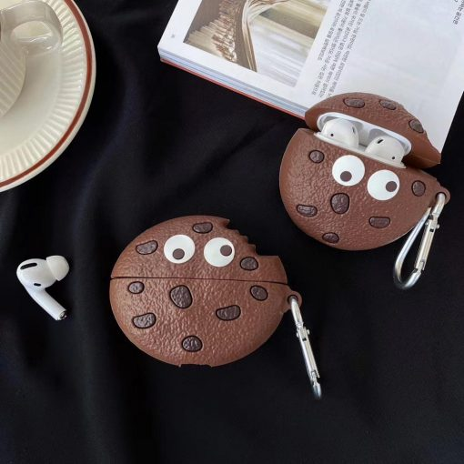 Wacky Chocolate Chip Cookie Premium AirPods Pro Case Shock Proof Cover