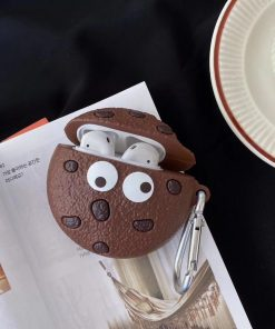 Wacky Chocolate Chip Cookie Premium AirPods Case Shock Proof Cover