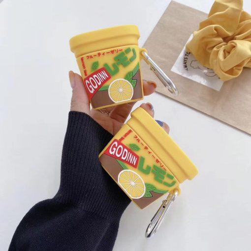 Japanese Ice Tea Premium AirPods Pro Case Shock Proof Cover