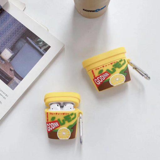 Japanese Ice Tea Premium AirPods Case Shock Proof Cover