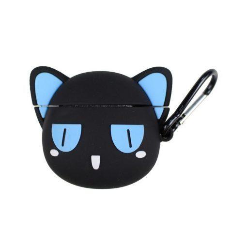 Black Cat Premium AirPods Case Shock Proof Cover