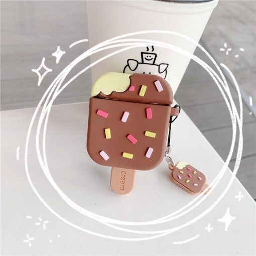 Ice Cream Bar with Sprinkles Premium AirPods Case Shock Proof Cover