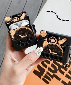 Mechanical Gear Premium AirPods Case Shock Proof Cover