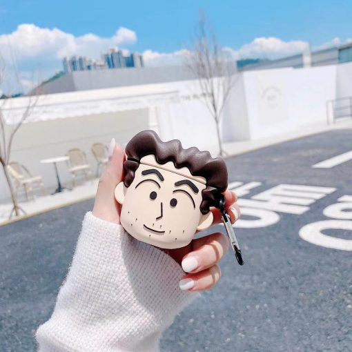 Shin Chan 'Nohara Hiroshi' Premium AirPods Case Shock Proof Cover