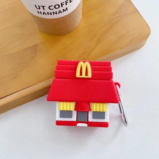 McDonald's Mini Restaurant Premium AirPods Case Shock Proof Cover