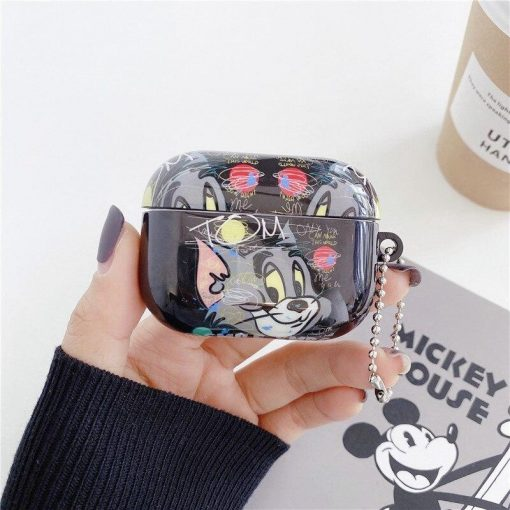 Tom and Jerry 'Graffiti' AirPods Pro Case Shock Proof Cover