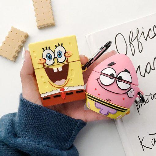Spongebob 'Patrick Starfish' Premium AirPods Case Shock Proof Cover