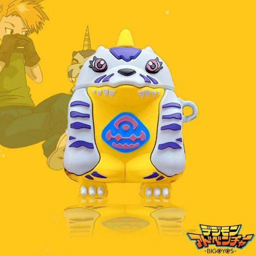Digimon 'Gabumon' Premium AirPods Case Shock Proof Cover