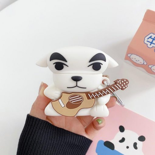 Animal Crossing 'K.K. Slider' Premium AirPods Case Shock Proof Cover