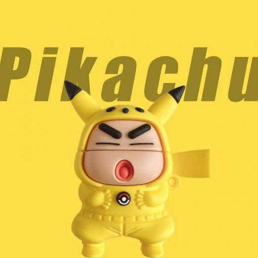 Shin Chan | Pokemon Premium AirPods Pro Case Shock Proof Cover