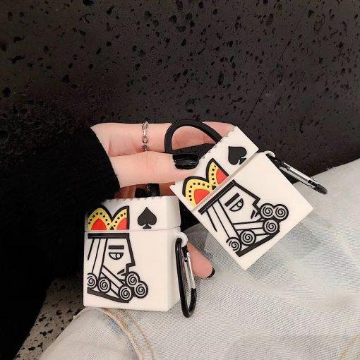 Poker Texas Hold Em King of Spades Premium AirPods Pro Case Shock Proof Cover