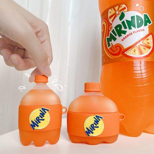 Mirinda Orange Soda Premium AirPods Pro Case Shock Proof Cover