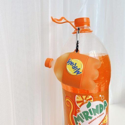 Mirinda Orange Soda Premium AirPods Case Shock Proof Cover