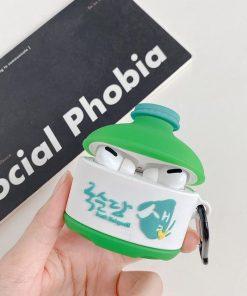 Korea Brand Rice Wine Premium AirPods Pro Case Shock Proof Cover