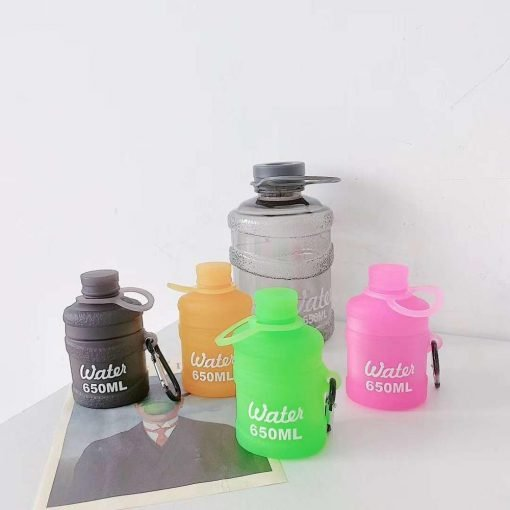 Candy Color Water Bottle Premium AirPods Pro Case Shock Proof Cover