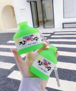 Korea Brand Rice Wine '2.0' Premium AirPods Pro Case Shock Proof Cover
