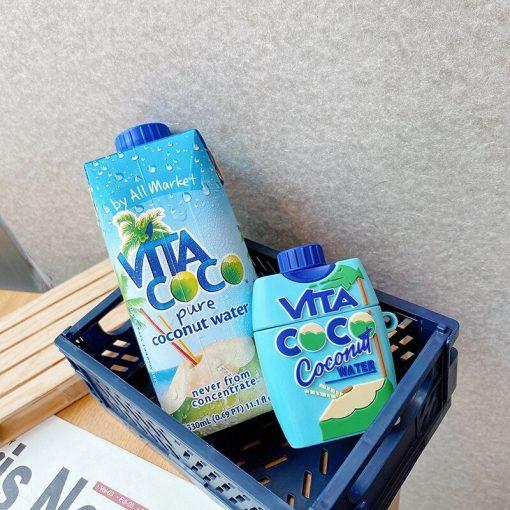 Vita Coco Coconut Water Premium AirPods Pro Case Shock Proof Cover