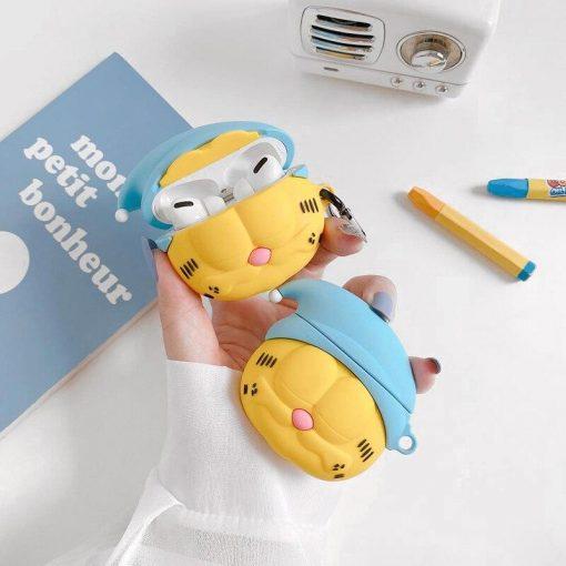 Sleeping Garfield Premium AirPods Pro Case Shock Proof Cover