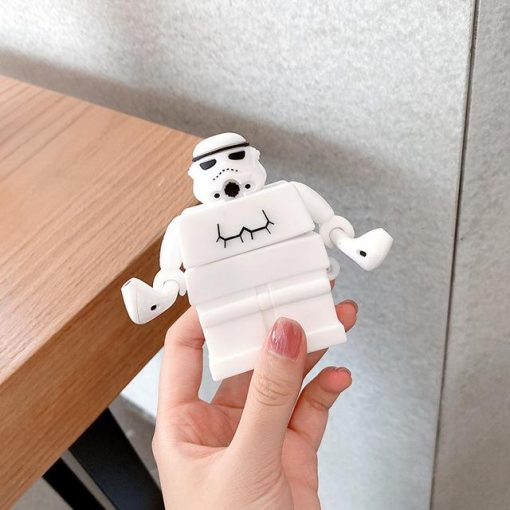 Star Wars 'Lego Storm Trooper' Premium AirPods Case Shock Proof Cover