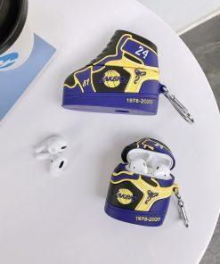 Kobe Bryant Sneaker '24' Premium AirPods Case Shock Proof Cover