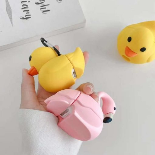 Cute Little Yellow Duck Premium AirPods Case Shock Proof Cover