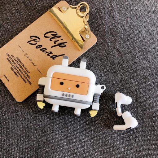 Cute Robot Premium AirPods Pro Case Shock Proof Cover